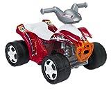 FEBER Quad 82 - Quad électrique pour enfants 18 mois à 3 ans, 6V, Rouge (Famosa 800007633)