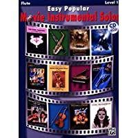 Easy Popular Movie Instrumental Solos, Flute: Level 1