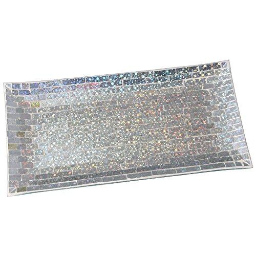 DonRegaloWeb - Centro rectangular de cristal en color espejo