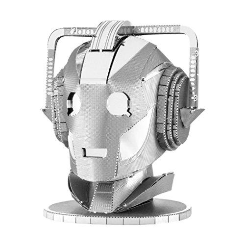 Fascinations Metal Earth Doktor Who Cyberman Kopf 3D Laser Cut Modell