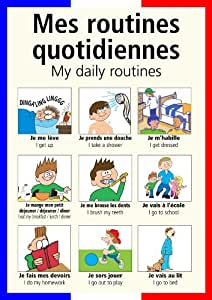 a3 french poster teaching aid classroom resources my