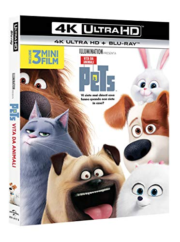 Pets - Vita Da Animali (Blu-Ray 4K Ultra HD+Blu-Ray) (1 Blu-ray)