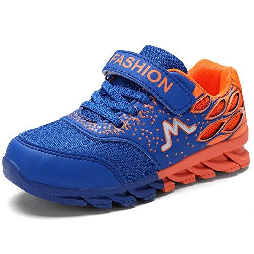 BAOLESEM Basket Enfants Garcon Fille Chaussures de Sport Ete Sneakers Chaussures Décontractées Velcro Outdoor