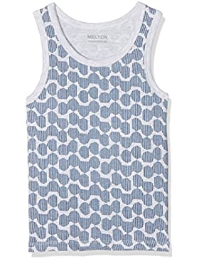 Melton Numbers, 2er-Pack AOP Jungs Unterhemd - Camiseta de Tirantes Niños