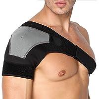 mejorada hombro apoyo, anzome compresión de neopreno Brace para prevención de lesiones, trastornado AC conjunta, Labrum Tear, Frozen dolor de hombro, esguince, dolor, Bursitis, tendinitis