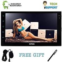 Eincar 7 pulgadas de pantalla táctil capacitiva Android 6.0 OS estéreo Marshmallow Reproductor multimedia ayuda del coche de WiFi 3G 4G pantalla del espejo de doble cámara GPS OBD2 de asistencia tacto 1080P Bluetooth con el tacto de la pluma y micrófono externo