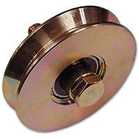 Cojinete de rueda V Groove 1 Ø 50 mm de espesor 12 mm Fc 300 1 PC