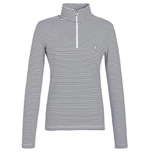 Golfino Rigato Da Golf Da Donna Troyer per il massimo comfort di gioco, bianco, S