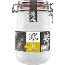 Ölmühle Solling Bio Kokosöl nativ im Bügel-Glas 1000ml