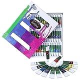 Artina Crylic Acrylfarben Set 36x12 ml Künstlerfarben, hochwertiges Farbset für Hobby-Künstler oder Malprofis