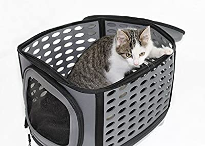 Easipet Small EVA Pet Carrier in Grey by Easipet