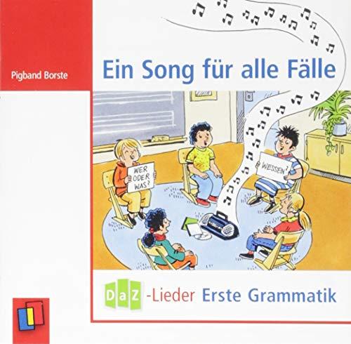 Ein Song für alle Fälle – DaZ-Lieder – erste Grammatik