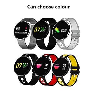Caixix CF006 Mode Männer und Frauen Smart Watch Farbe Bildschirm Herzfrequenz Blutdruck-Überwachungsfunktion IP67 wasserdichte Sport-Tracker Schlafüberwachung