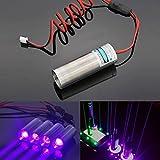 Generic 405nm 250mW Dick Beam violett Laser-Modul Projektor für Bar Stage Ausstellung Ständer Lighti