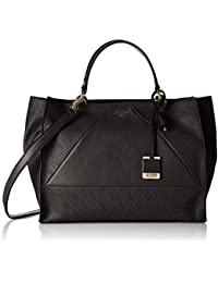 GUESS Cammie Large Satchel, Bolso de Mano para Mujer, Talla Unica EU
