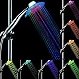 Color Changing Showerhead Palmare LED 3 Water Mode 7 Color Glow Light Automaticamente Changing.ZHA-GOO