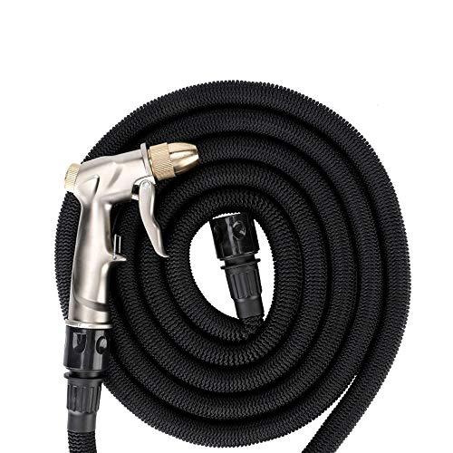 ETH Wasserpistole aus Metall + Teleskop-Wasserrohr Auto-Hochdruck-Autowaschwasser-Wasserpistole 3-Fach Autoteleskop-Wasserrohr Auto-Autowaschanlage Wasserpistole Mit Schaumtopf. Vorzüglich -