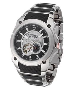 Reloj de caballero DeTomaso MTM8808A-BK automático, correa de acero inoxidable color varios colores de DeTomaso