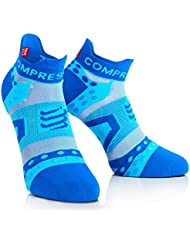 Compressport PRS Ultralight Run Low V2.1- Calcetines unisex, color azul, talla 2