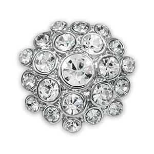 Expo Sparkle Rhinestone Button