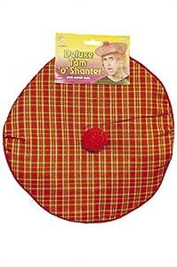 Fancy Dress Tartan Tam-o-shanter Hat (gorro/ sombrero)