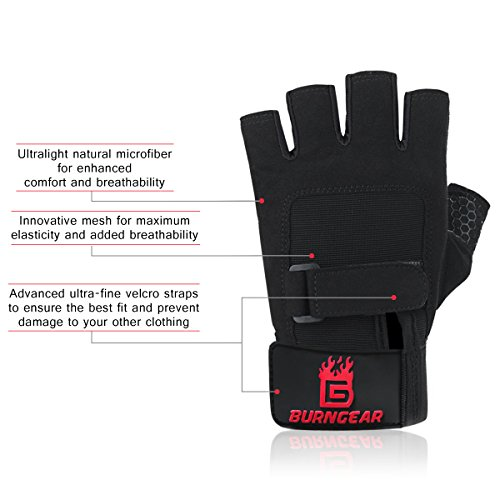 BurnGear-Breathable-Gym-Gloves-Full-Palm-Protection-Extra-Grip-Anti-Slip-Weight-Lifting-Gloves-for-Workout-Training-Fitness-Bodybuilding-and-Exercise-Men-Women-X-Large