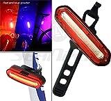 LED Bike Lights–Super Hell, 6-Modus, wasserfest, USB wiederaufladbar 240° Sichtbarkeit, für Radfahren Sicherheit Taschenlampe, einfach installieren auf Fahrräder, Helme oder Rucksäcke–inpay