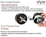 La'forte La Vite Cherie -Compact Powerful Mixer Grinder Blender - 3 Jars & 2 Detachable Blades (Download Free Recipe E-Book) - BIS Approved- ISI Mark