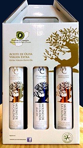 Aceite de oliva virgen extra - Castillo de Illora - estuche 3...