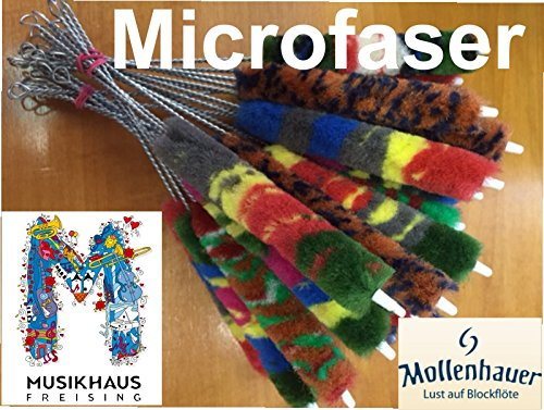 Mollenhauer 6151 für Sopran Pfeiffenreiniger Wischer Blockflöte