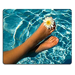 Luxlady Gaming-Mousepad in piedi acqua piscina immagine ID 5213696 fiori