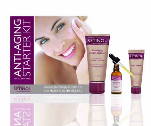 Skincare Retinol Anti-Aging Starter-Kit