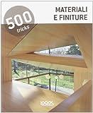 500 tricks. Materiali e pavimentazioni