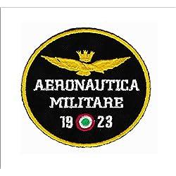 Patch águila Aeronautica Militar 1923diámetro CM 8parche bordado Replica -698
