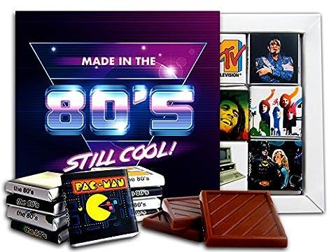 DA CHOCOLATE Candy Souvenir THE 80'S Chocolate Gift Set 13x13cm 1 box (Still Cool)