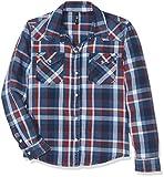 LTB Jeans Mädchen Bluse Lucinda G, Blau (Sky Plaid X Wash 50491), 140 (Herstellergröße: 9-10)