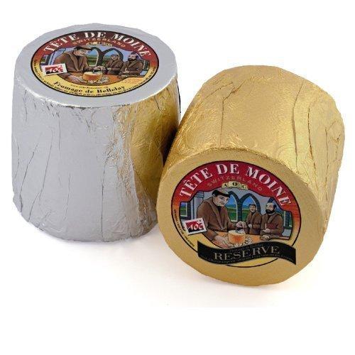 Tete de moine classic e riserva formaggio capo del monaco 1600g zwei tutto pani per girolle affetta formaggio