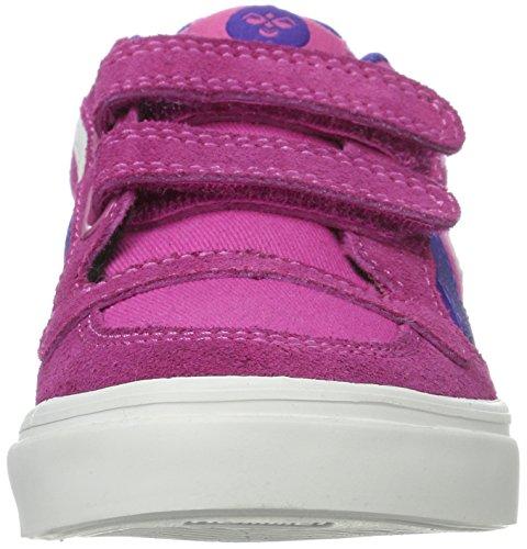 Hummel Stadil Canvas, Sneakers Basses Fille Rose (Rose Violet)
