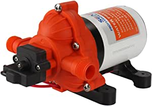 Lighteu Seaflo Dc 12 V 11 6 L Min 3 1 Bar 3 Kammer Wasserdruckmembranpumpe 33 S Druckpumpe Für Marine Boote Yacht Outdoor Garten Auto