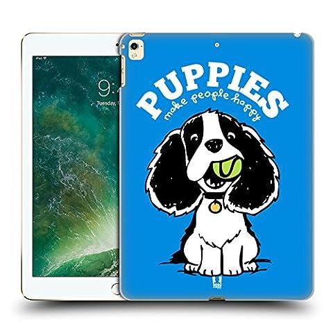Head Case Designs Welpen Machen Glücklich Oscar Und Howard Ruckseite Hülle für Apple iPad Pro 12.9 (2016/17)