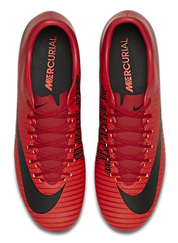 Nike Kinder Aprã¨s-Stiefel Jules, Chaussures de Football Homme Multicolore (University Red/black-bright Cr)