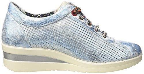MELLUSO R20110, Sneakers basses femme Blu (Italia)
