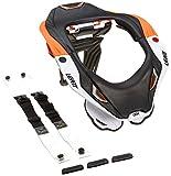 LEATT GPX 5.5 Neck Brace, Farbe orange-schwarz, Größe L/XL