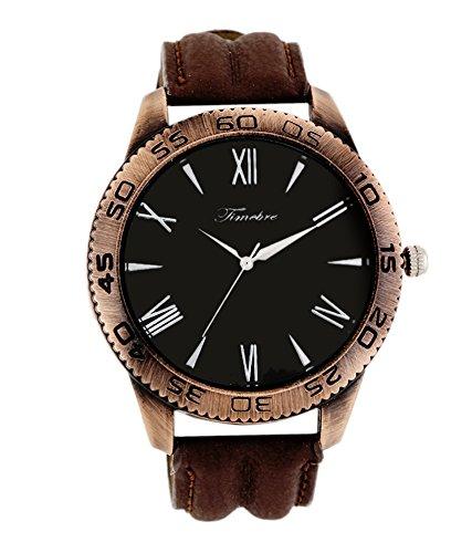 Timebre Men's Black Hunk Casual Watch-174 image