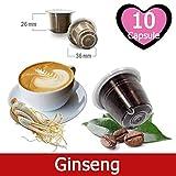 Caffè Kickkick al Ginseng 10 Capsule Compatibili Nespresso