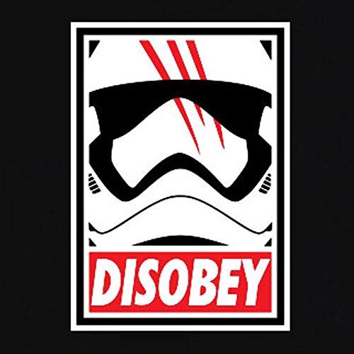TEXLAB - Disobey - Herren T-Shirt Schwarz