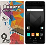 Annure Yu Yureka Black Tempered Glass screen protector [ Oil and Dust proof] [100% transparency]