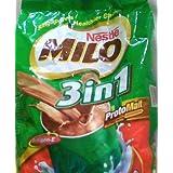 Nestle MILO 3 In 1 Chocolate Malt Drink (18 Sachets)