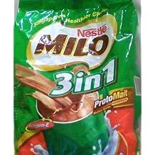 Nestlé MILO 3 en 1 chocolate de malta Bebida (18 bolsitas)
