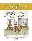 Jungfrau 2018: Sternzeichenkalender-Cartoonkalender als Wandkalender im Format 19 x 24 cm.